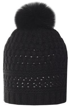 Шапка Diane Von Furstenberg                                                                                                              черный цвет
