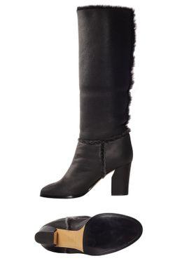 Сапоги Casadei                                                                                                              чёрный цвет