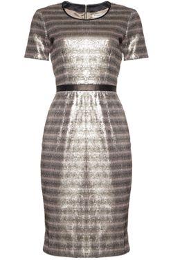 Платье Burberry London                                                                                                              многоцветный цвет