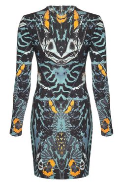 Платье Mcq Alexander Mcqueen                                                                                                              синий цвет