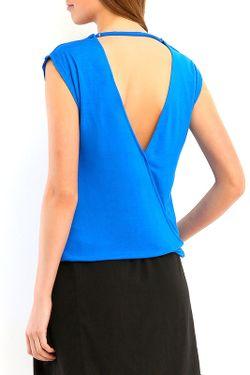 Блузка Top Secret                                                                                                              синий цвет