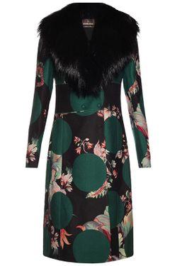 Пальто Roberto Cavalli                                                                                                              зелёный цвет