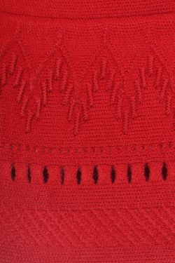 Юбка ROBERTO CAVALLI PRECOLLECTION                                                                                                              красный цвет