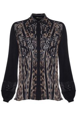 Блуза ROBERTO CAVALLI PRECOLLECTION                                                                                                              чёрный цвет