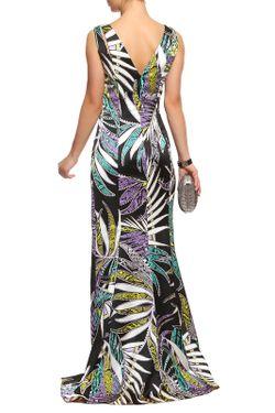 Платье Just Cavalli                                                                                                              многоцветный цвет