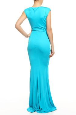 Платье Вечернее Roberto Cavalli                                                                                                              голубой цвет