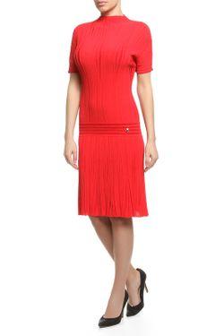 Платье Вязаное Roberto Cavalli                                                                                                              красный цвет
