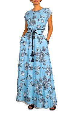 Платье CLEVER                                                                                                              голубой цвет