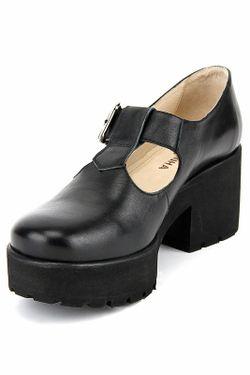 Туфли Piranha                                                                                                              чёрный цвет
