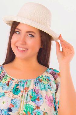 Шляпа Rossini                                                                                                              белый цвет