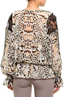 Блуза Roberto Cavalli                                                                                                              многоцветный цвет