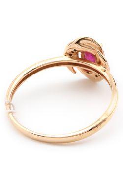 Кольцо Tesoro                                                                                                              красный цвет
