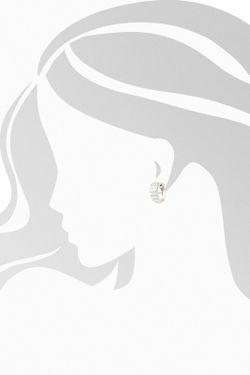 Серьги Tesoro                                                                                                              белый цвет