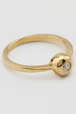 Кольцо Tesoro                                                                                                              желтый цвет