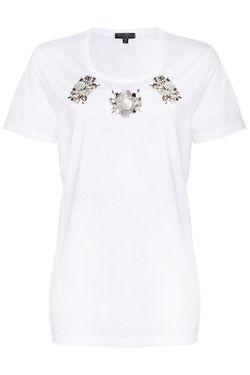 Футболка Burberry Prorsum                                                                                                              белый цвет