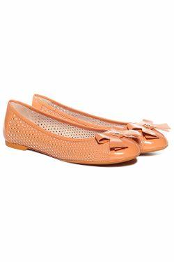Балетки Emporio Armani                                                                                                              оранжевый цвет