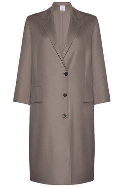 Пальто Agnona                                                                                                              серый цвет