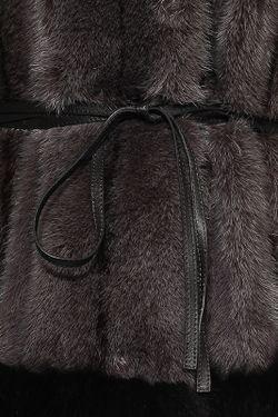 Шуба Lanvin                                                                                                              чёрный цвет