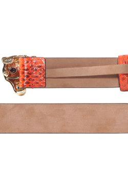 Ремень Roberto Cavalli                                                                                                              оранжевый цвет