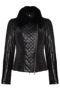 Куртка Roberto Cavalli                                                                                                              черный цвет