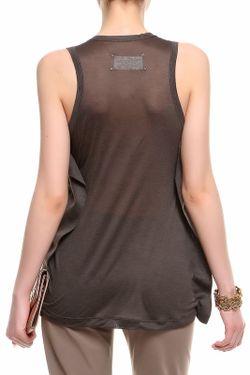 Блуза Maison Margiela                                                                                                              коричневый цвет