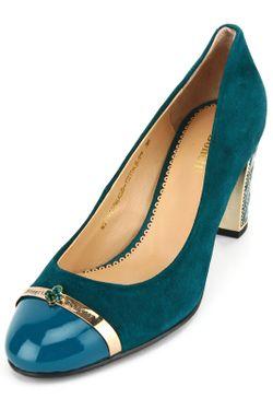 Туфли Benetti                                                                                                              зелёный цвет