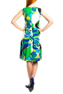 Платье Monamod                                                                                                              многоцветный цвет