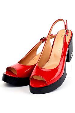 Босоножки Lottini                                                                                                              красный цвет