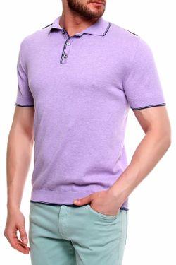 Футболка giovanni botticelli                                                                                                              фиолетовый цвет