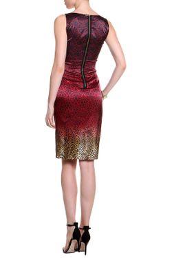 Платье Frankie Morello                                                                                                              красный цвет
