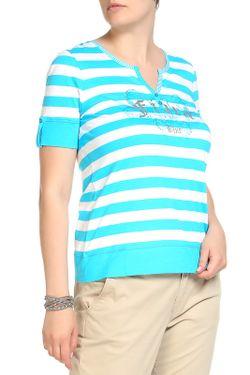 Блуза FIORA BLUE                                                                                                              голубой цвет