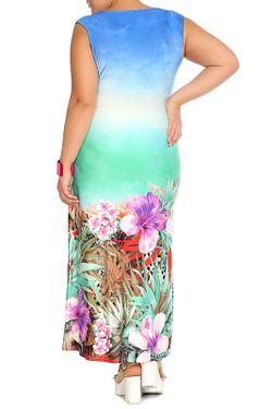 Платье Мадам Т Мадам Т                                                                                                              голубой цвет