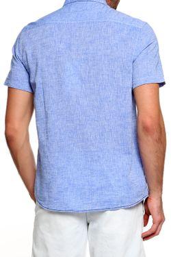Рубашка Mustang                                                                                                              синий цвет