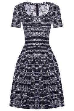 Платье Alaïa                                                                                                              синий цвет