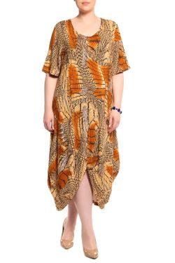 Платье Мадам Т Мадам Т                                                                                                              коричневый цвет