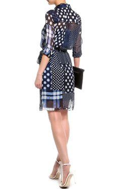 Платье-Рубашка С Поясом Diane Von Furstenberg                                                                                                              многоцветный цвет