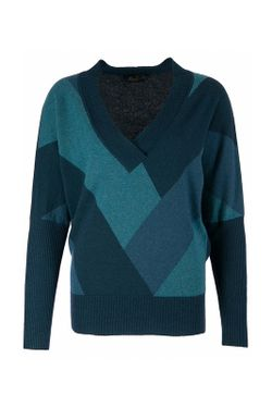 Пуловер Luisa Spagnoli                                                                                                              зелёный цвет