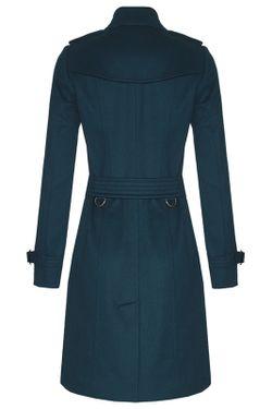 Тренч Burberry London                                                                                                              синий цвет