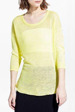 Джемпер Mango                                                                                                              желтый цвет