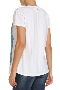 Топ Twin-Set Jeans                                                                                                              белый цвет