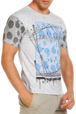 Футболка Trussardi                                                                                                              серый цвет
