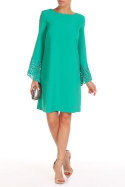 Платье Trussardi                                                                                                              зелёный цвет