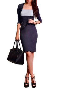 Платье FRANCESCA LUCINI                                                                                                              серый цвет