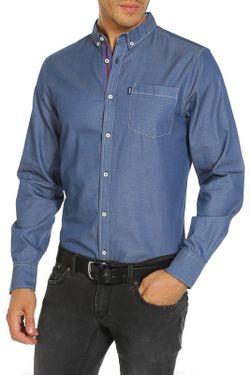 Рубашка LE SHARK                                                                                                              синий цвет