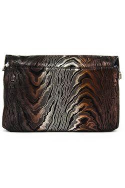 Клатч Gilda Tonelli                                                                                                              коричневый цвет