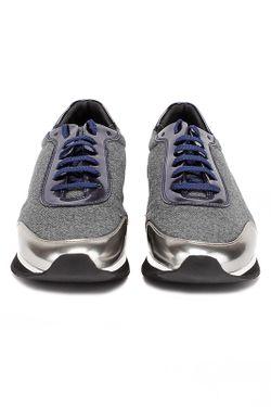 Туфли Закрытые Pertini                                                                                                              серый цвет