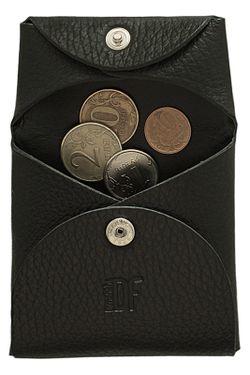 Кошелек-Монетница Dimanche                                                                                                              черный цвет