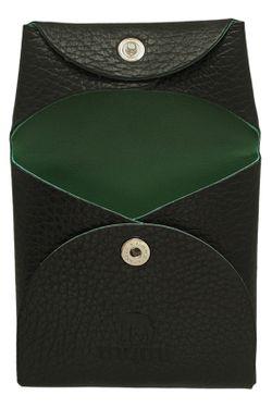 Кошелек-Монетница Dimanche                                                                                                              зелёный цвет