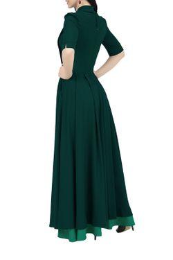 Платье Grey Cat                                                                                                              зелёный цвет