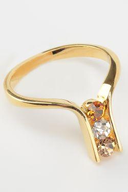 Кольцо Inesse M                                                                                                              белый цвет